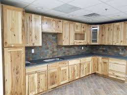 what paint color goes best with hickory cabinets our kitchen cabinet home tour new home improvement