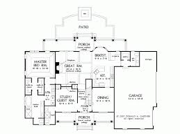 eplans bungalow house plan country estate with custom details