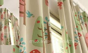 Ladybug Curtains Baby Curtains Drumah Top
