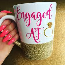engaged af engagemnt gift best friend gifts christmas gift