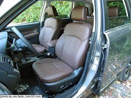 Brown Car Interior 2017 Subaru Forester Interior Photos