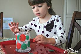 kids christmas craft u2013 candle holder mommy blogs justmommies