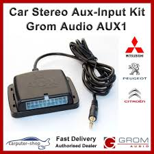 grom audio aux1 aux input auxiliary adapter interface amazon co