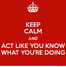 Keep Calm And Meme - keep calm and act like you know what you re doing weknowmemes