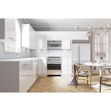 42 inch kitchen wall cabinets lowes cambridge 12 in w x 42 in h x 12 in d glossy white engineered wood door wall stock cabinet