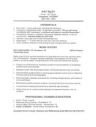 Employment Resume Examples by Cv Template Retail