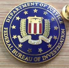 federal bureau of fbi federal bureau of investigation vintage no starburst