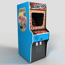 Galaga Arcade Cabinet 3d Galaga Arcade