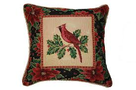 cardinal home decor christmas cardinal throw pillows christmas wikii