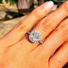 engaged rings big engagement ring inspiration popsugar