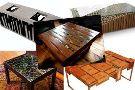 Unique Coffee Table 5 Unique Coffee Tables Made From Recycled Materials Shade Grown