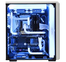 home theater pc case avalanche ii hardline liquid cooled gaming computer avadirect