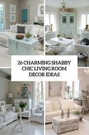 Home Decor Shabby Chic by 26 Charming Shabby Chic Living Room Décor Ideas Shelterness