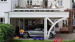 carport mit balkon individuelle sondermodelle carport in holz alu stahl carport