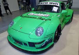 rauh welt porsche green file osaka auto messe 2015 266 porsche 964 tuned by rauh welt