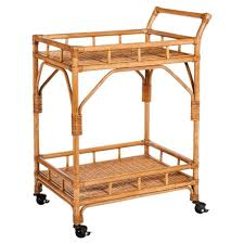 rattan bar cart target the best cart