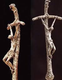 papal crucifix francis brings back the bent cross broken cross novus ordo