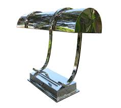 Art Deco Table Lamps An Important American Art Deco Bankers Streamline Desk Lamp