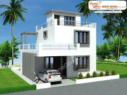 modern duplex house design in 126m2 9m x 14m to get for plan