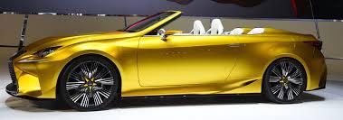 lexus lfa price in pakistan lexus unveils 400 plus horsepower gold lf c2 to beat own