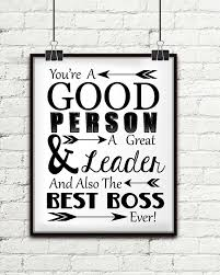 you re a person a great leader and also the best