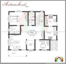 kerala house plans 3 bedrooms house plan