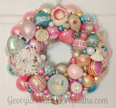 318 best vintage ornaments wreaths images on