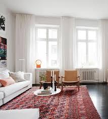 Drapes Living Room Best 25 Midcentury Window Treatments Ideas On Pinterest