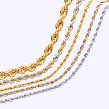 silver gold chain necklace images 30 inch 28 inch 26 inch 24 inch long choker wholesale stainless jpg