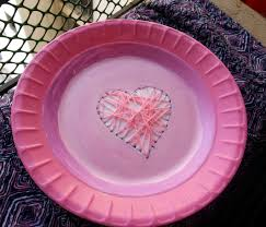 Art And Craft For Kids With Paper Plates Life U0027s Little Treasures Kids Valentine Craft Paper Plate Heart