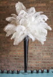 wedding candelabra ostrich feather ostrich feather centerpiece