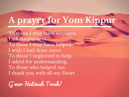 yom kippur atonement prayer1st s day gift ideas worship service schedule