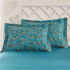Featherbedding Bedroom Very Impressive Peacock Comforter Bed Collections With