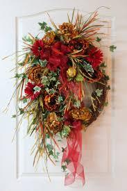 Halloween Picks For Wreaths by 132 Best Autumn On The Door Images On Pinterest Autumn Wreaths