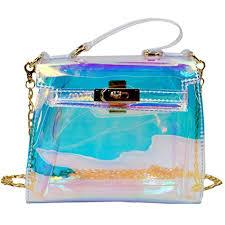 holographic bags hologram handbag chain shoulder bag bag trends for 2018