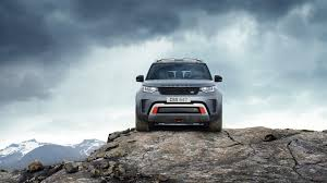 land rover discovery off road 2018 land rover discovery svx is a supercharged v8 powered off