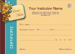 best certificate designs templates photos resume samples