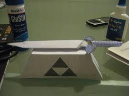 Master Sword Papercraft - my origami mastersword gbatemp net the independent