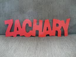 personalized baby wall names custom nursery wooden wall