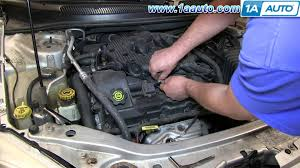 how to install change replace spark plugs 2001 06 chrysler sebring