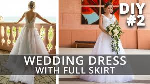 sewing a crinoline petticoat how to make a wedding dress with