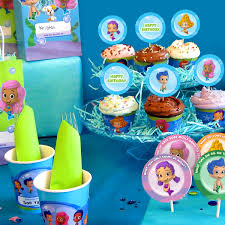 bubble guppies party day planner nickelodeon parents
