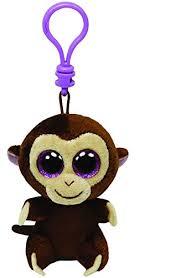amazon ty beanie boos coconut clip monkey toys u0026 games
