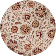 Round Rug 6 by Artistic Weavers Sarah Ivory 6 Ft X 6 Ft Round Area Rug Sar 5035