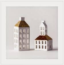 christmas in denmark copenhagen houses white porcelain candle