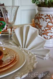 napkin folding for thanksgiving dinner 5 interesting ways to use napkins and napkin rings a tablescape