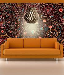 wallpaper designs for living room online india decorating ideas