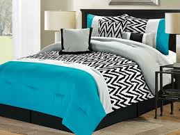 Brown And Blue Bed Sets Best Contemporary Blue Comforter Sets Full For Residence Ideas