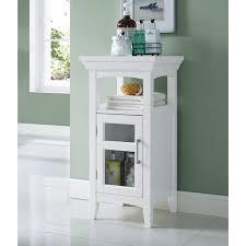 Bamboo Bathroom Cabinet Bathroom Bamboo Bathroom Cabinet With Adjustable Shelf Slim