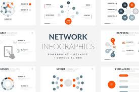keynote themes compatible with powerpoint 42 ntetwork infographic template powerpoint keynote google slides
